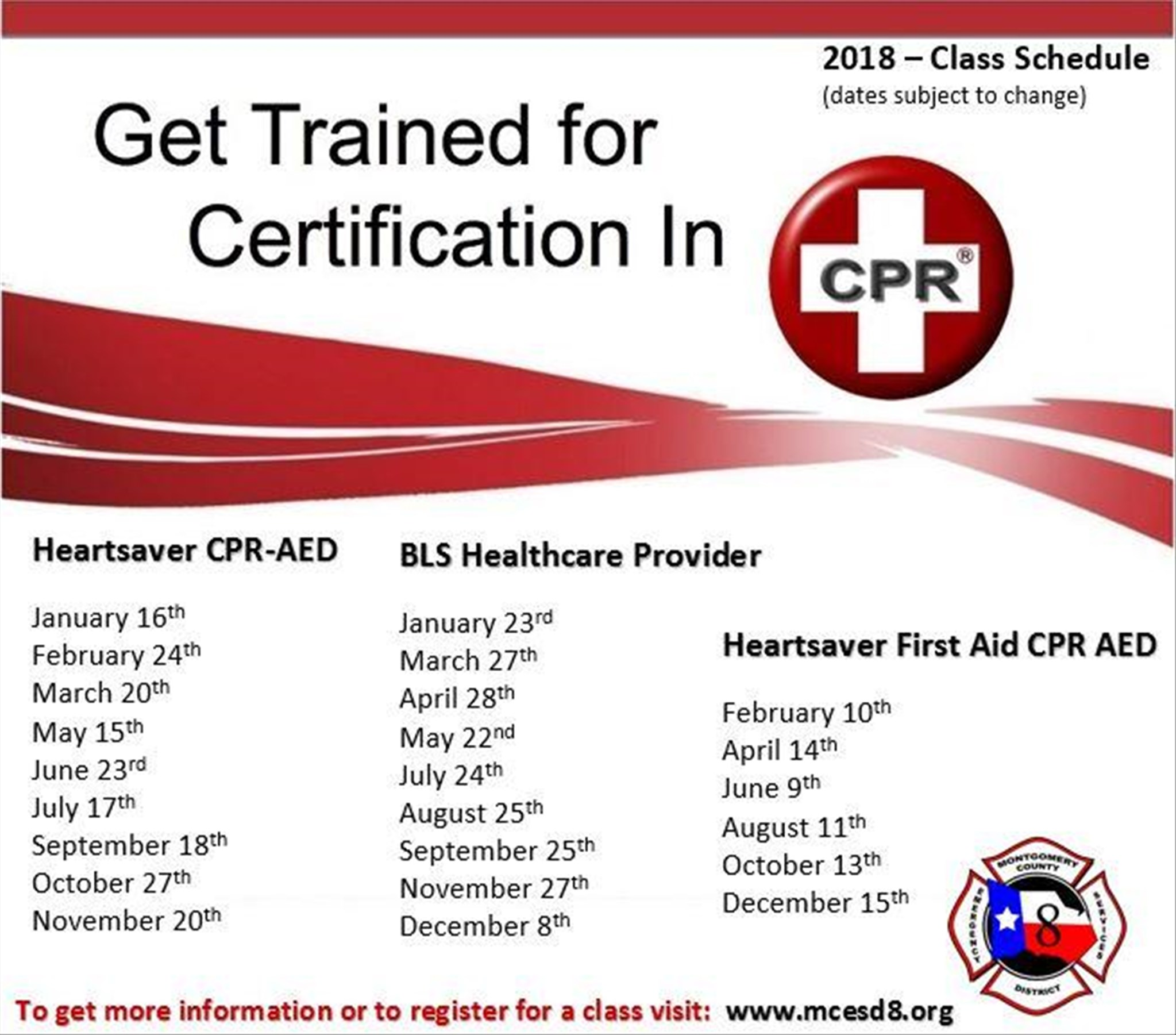 South county fire department cpr class schedule 2018 xflitez Images
