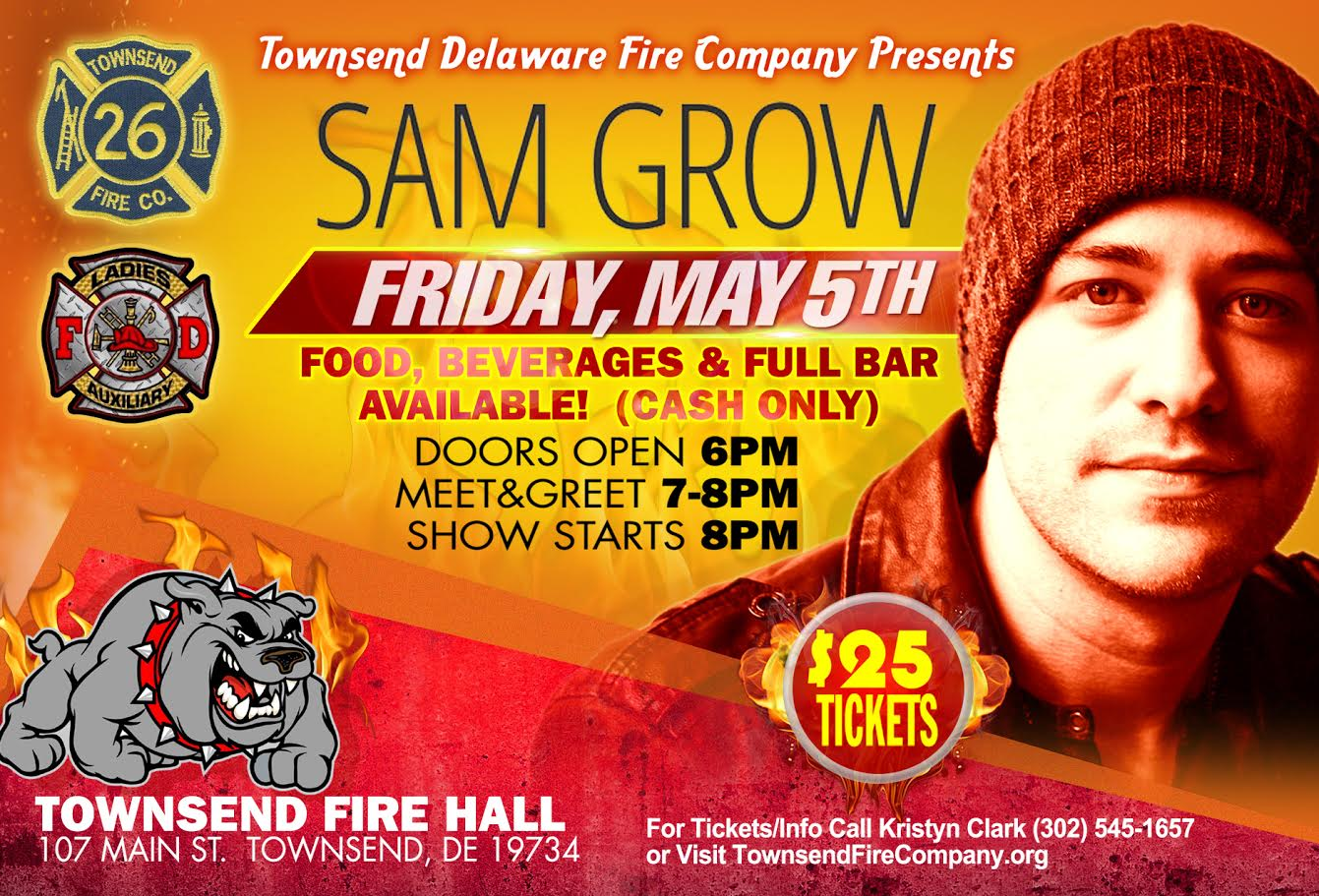 An Evening with Sam Grow